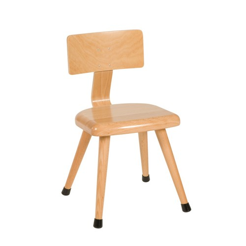 Nienhuis Montessori Chair C3: Yellow (35 cm)
