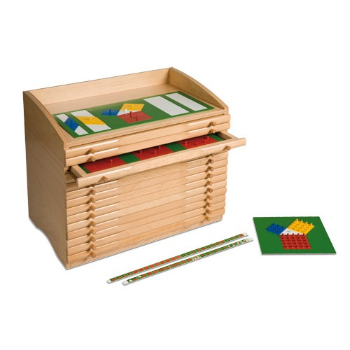 Nienhuis Montessori Fraction Cabinet
