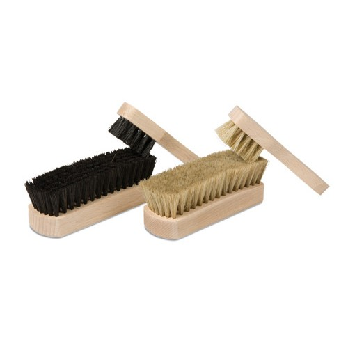 Nienhuis Montessori Shoe Polishing Brush Set, 4 Brushes