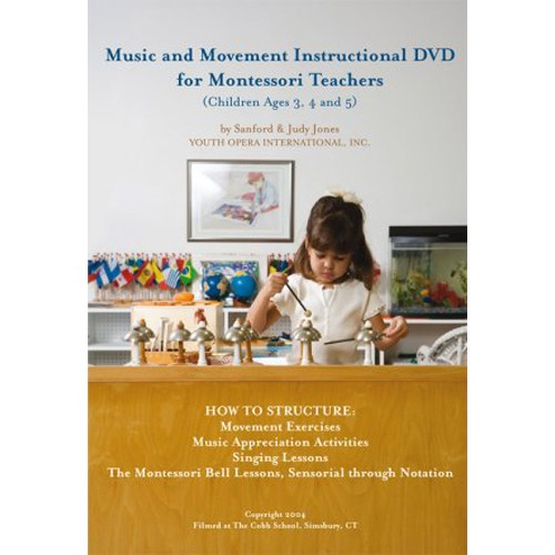 Book: Music And Movement Instructional DVD For Montessori Teachers