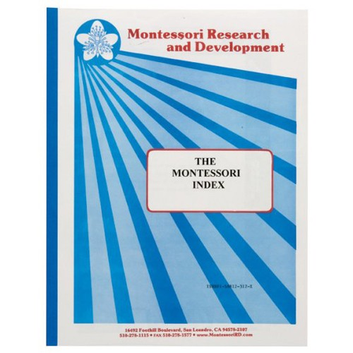 Montessori Book: The Montessori Index