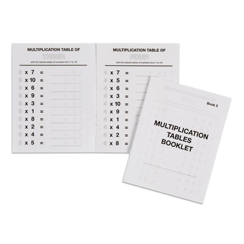 Nienhuis Montessori Csm, Multiplication Tables Booklet 2