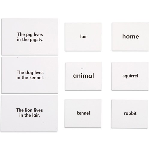 Nienhuis Montessori Csm, Animals And Their Homes