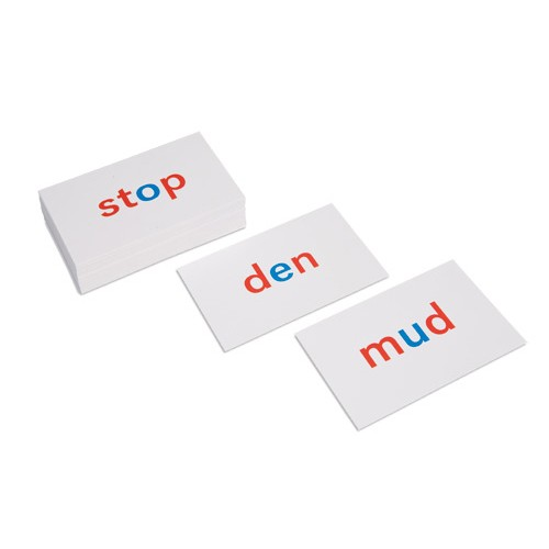Nienhuis Montessori Csm, Phonetic Reading Cards