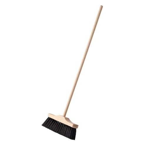 Nienhuis Indoor Broom: 49cm with synthetic soft black bristles (NL)