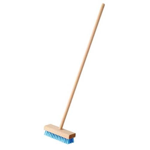 Floor Scrubber: 49cm with synthetic bristles