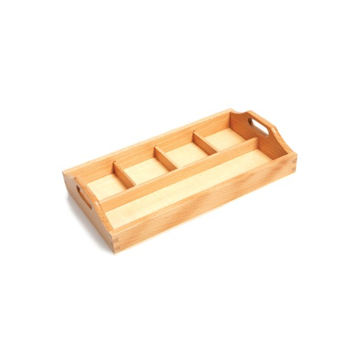 Montessori 4 Compartment Sorting Tray