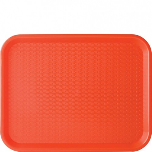 Montessori Red Plastic Tray