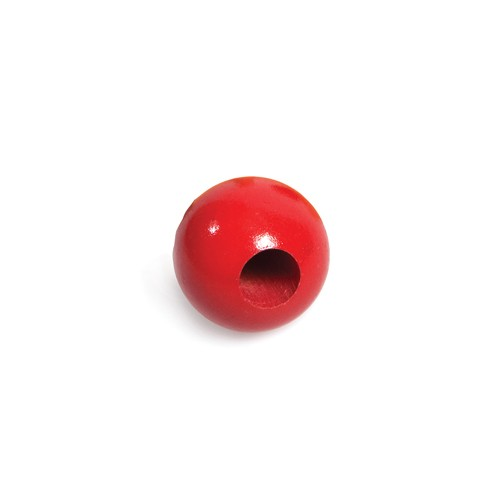 Montessori 50mm Red Chunky Round Beads