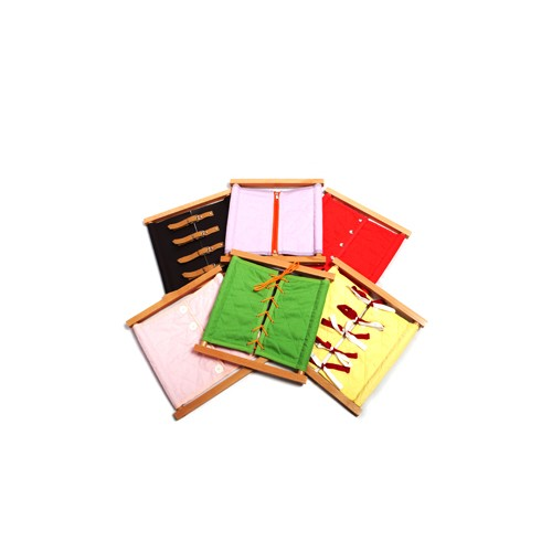 Montessori Set of Dressing Frames