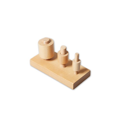 Montessori Wooden Nuts and Bolts Frame