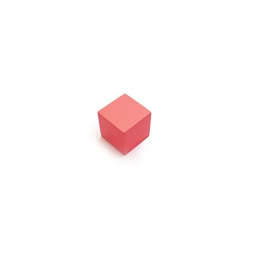 Montessori 2cm Pink Tower Cube