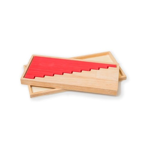 Montessori Small Red Rods