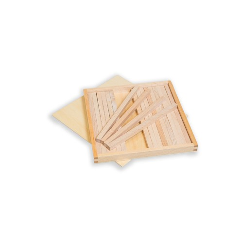 Montessori Box of Prisms for Brown Stair