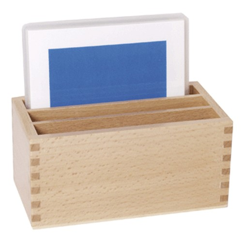 Montessori Box for Geometric Form Cards