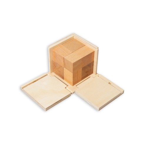 Montessori Natural Binomial Cube
