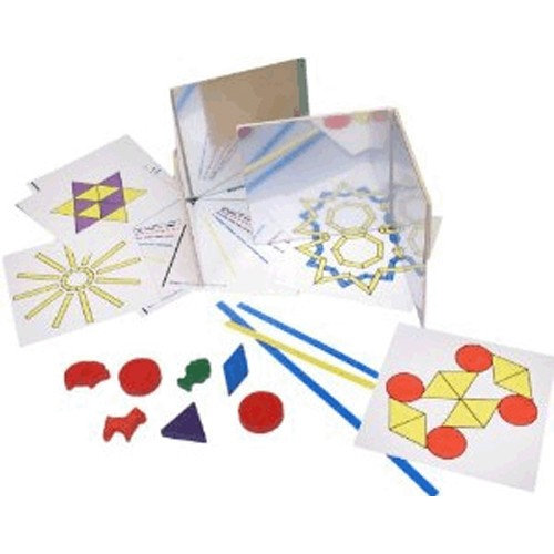 Montessori Mirror Experiment Set