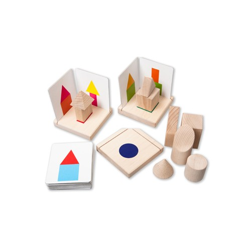 Montessori 3 Dimensional Building Activity