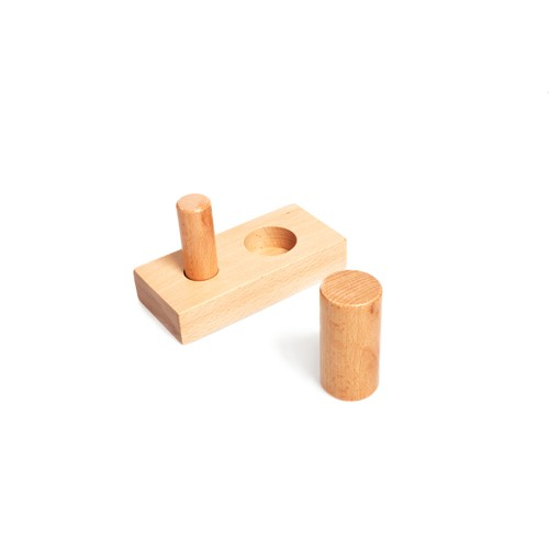 Montessori Thick and Thin Cylinders