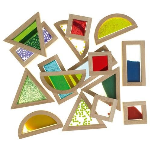 Montessori Sensory Blocks Set