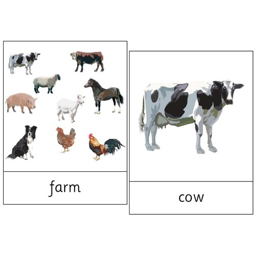 Montessori Farm Animals Pdf File