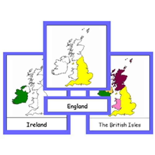 Montessori Countries Of The British Isles Cards .pdf File