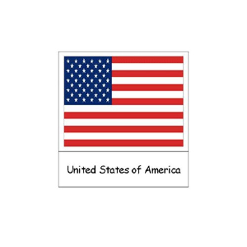 Montessori North American Flags Cards .pdf File