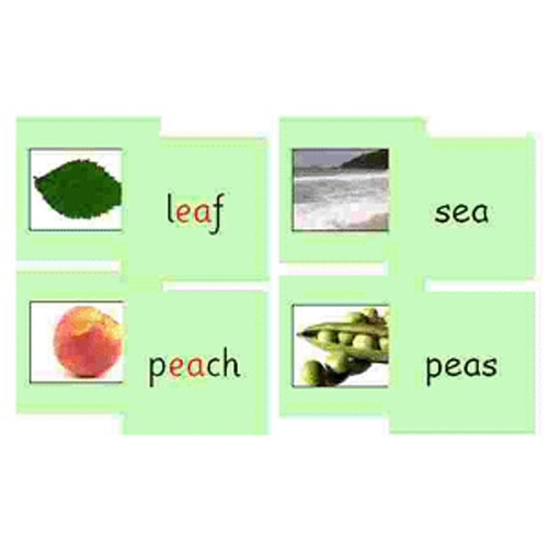 Montessori Green Series Phonics Reading Cards .pdf File