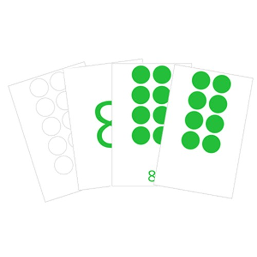 Montessori Numbers and Counters Cards .pdf File