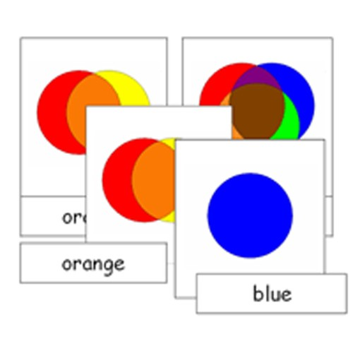 Montessori Colours Cards .pdf File