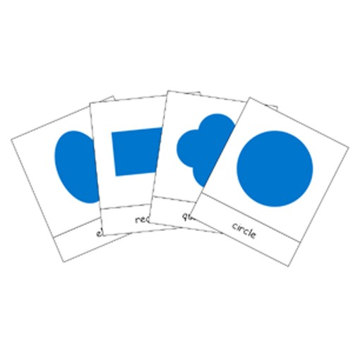 Montessori Geometric Shapes Cards .pdf file