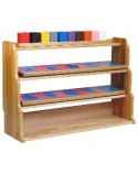 Montessori Shelving Frame for Metal Insets
