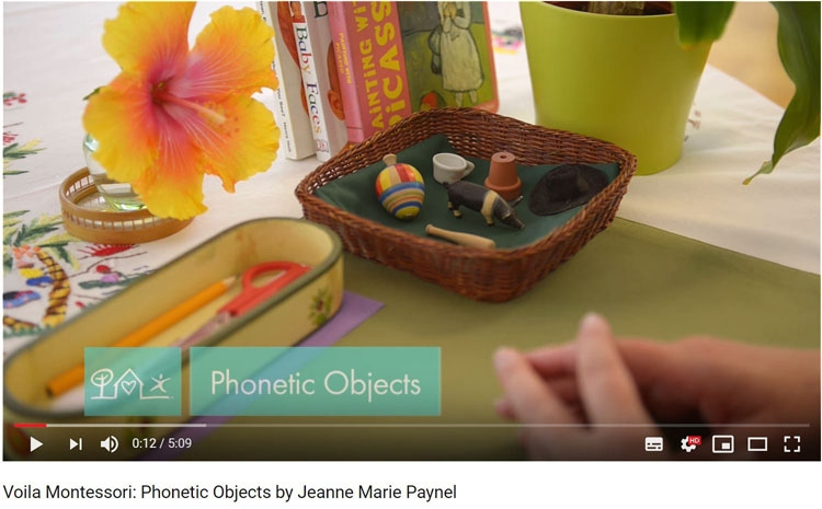 phonetic objects